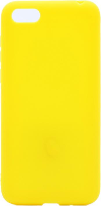 Чехол для сотового телефона GOSSO CASES для Honor 7A Soft Touch yellow, желтый чехол для сотового телефона gosso cases для huawei honor 7x soft touch 201910 черный