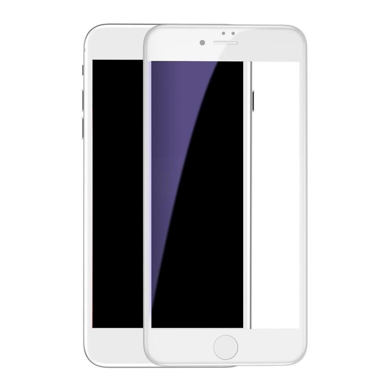 Защитное стекло Baseus SGAPIPH8P-HES02, белый в контрольной мудрости zkteco f7 plus контроль доступа к отпечаткам пальцев на одной машине