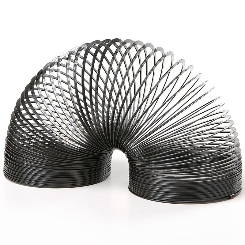 Игрушка антистресс Slinky Слинки ретро, черный металл