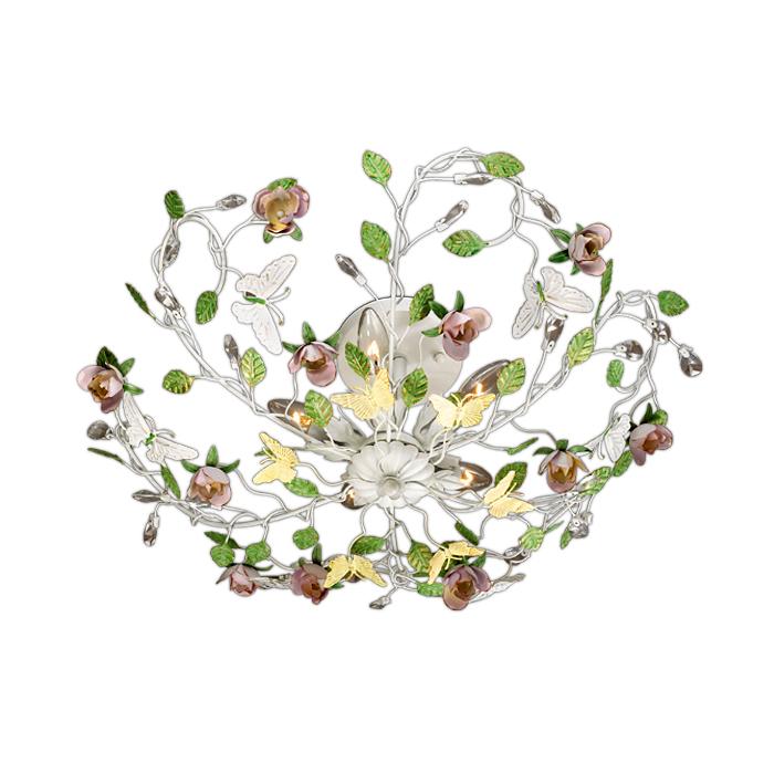 Потолочный светильник Odeon Light 2584/5, белый потолочная люстра odeon light arelata 2584 5