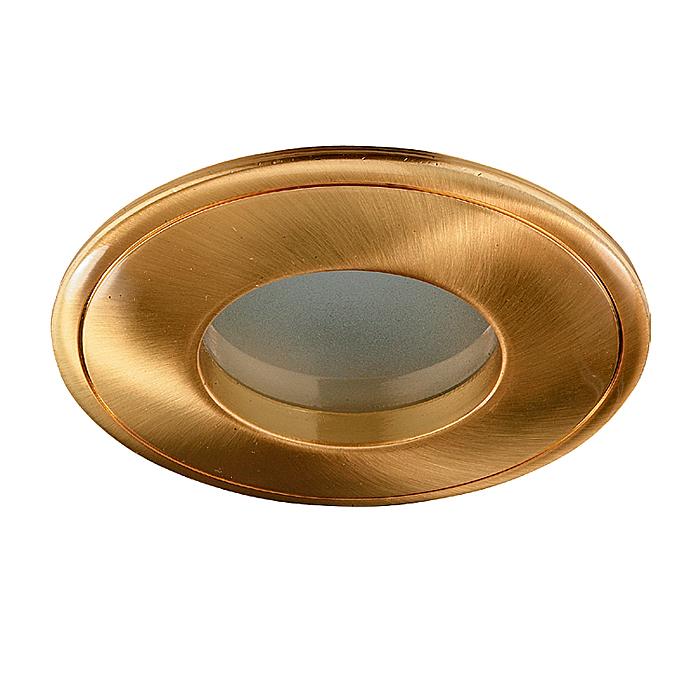 Встраиваемый светильник Novotech 369304, золотой369304Встраиваемый светильник с одной лампой Novotech 369304 серии Aqua в стиле минимализм придаст особый шарм вашему интерьеру. Размеры (Диаметр х Высота) 80х0 мм.