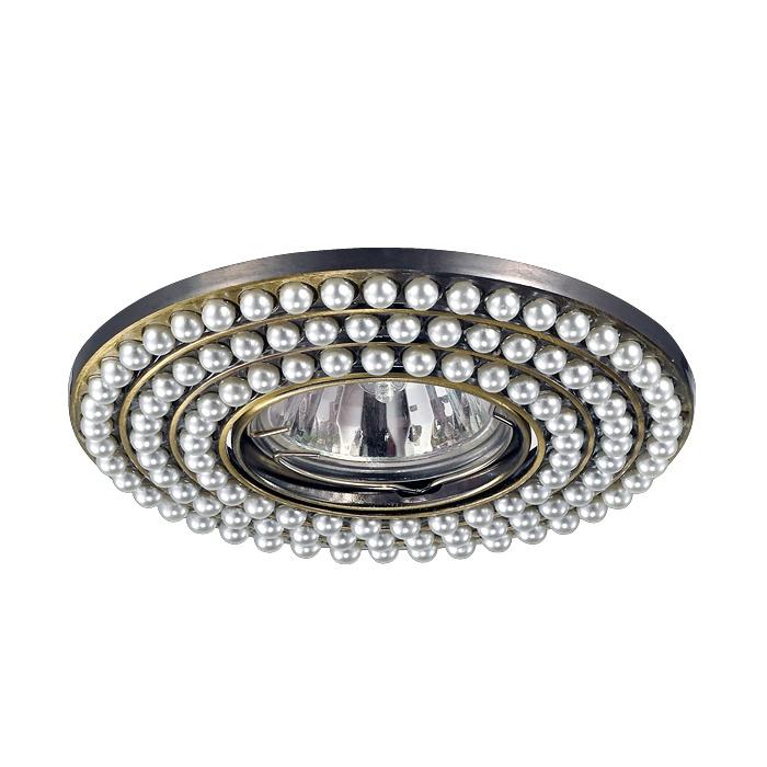 Встраиваемый светильник Novotech 370143, серебристый