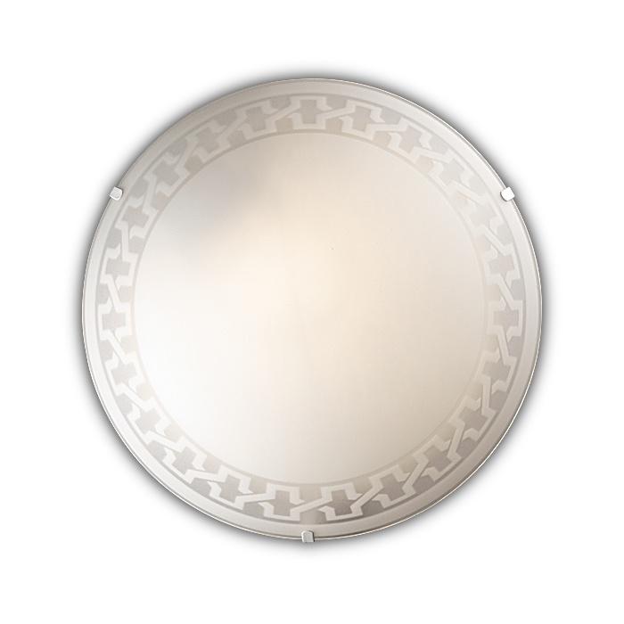 Настенно-потолочный светильник Sonex 1203/L, белый бра sonex tosi 1239 l