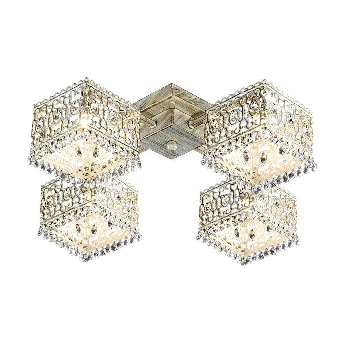 Потолочный светильник Odeon Light 2836/4C, белый odeon light потолочная люстра odeon light nantes 2941 4c