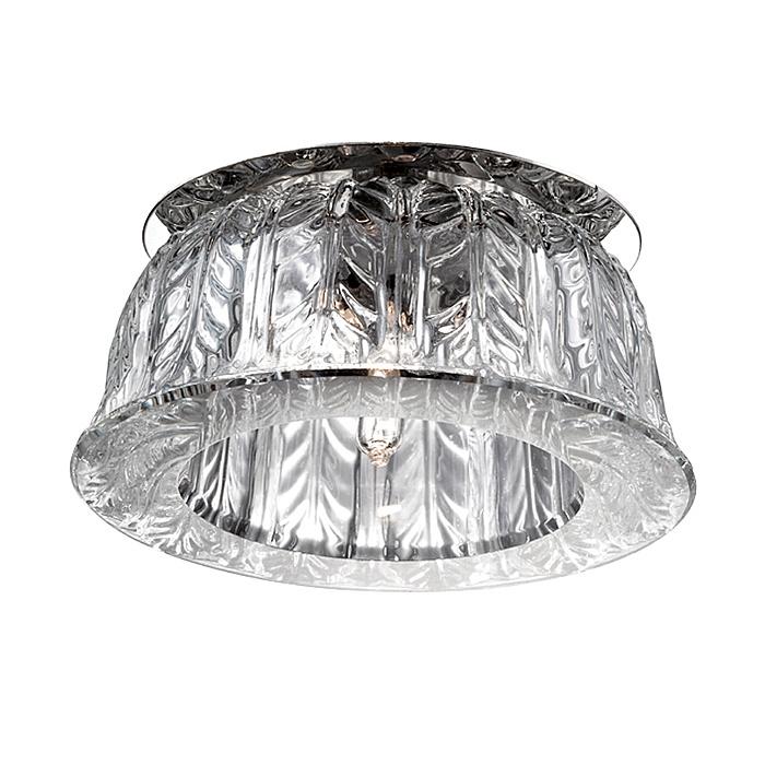 купить Встраиваемый светильник Novotech 369669, серый металлик по цене 860 рублей