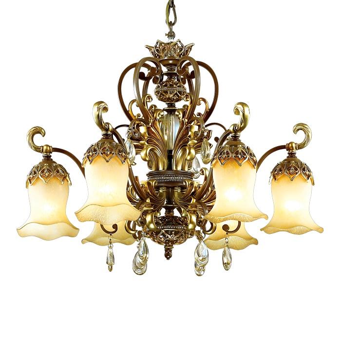 Подвесной светильник Odeon Light 2802/6, коричневый цены