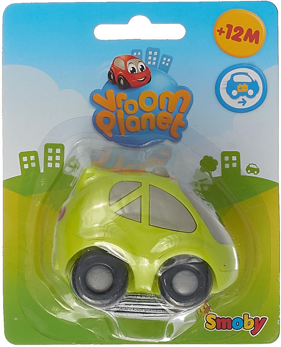 Smoby Машинка Vroom Planet цвет салатовый цена и фото