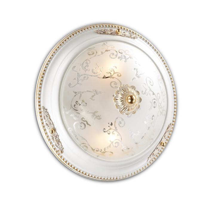 Настенно-потолочный светильник Odeon Light 2670/2C, белый потолочный светильник odeon light corbea 2670 3c