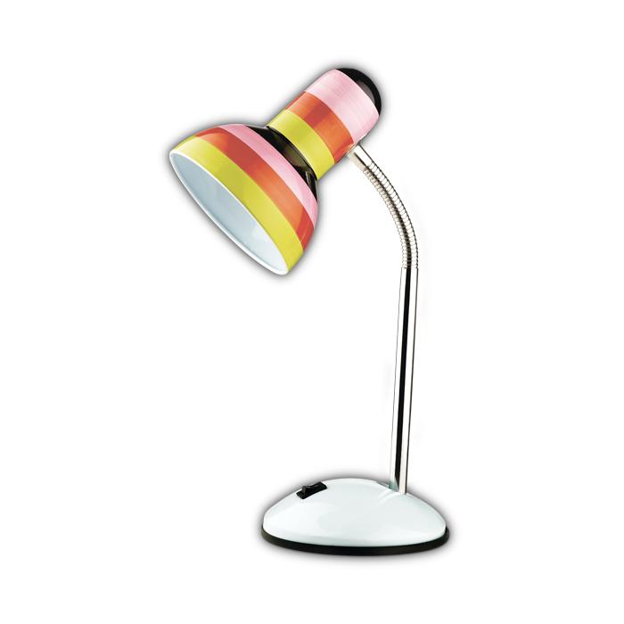 Настольный светильник Odeon Light 2593/1T, серый металлик цена 2017
