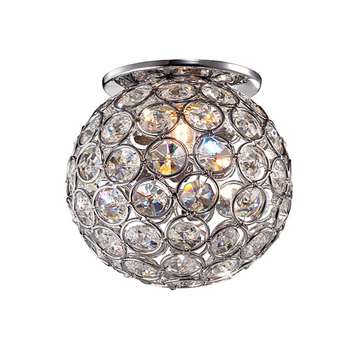 Встраиваемый светильник Novotech 369738, серый металлик369738Встраиваемый светильник с одной лампой Novotech 369738 серии Elf в стиле модерн освежит ваш интерьер. Размеры (Диаметр х Высота) 100х0 мм.