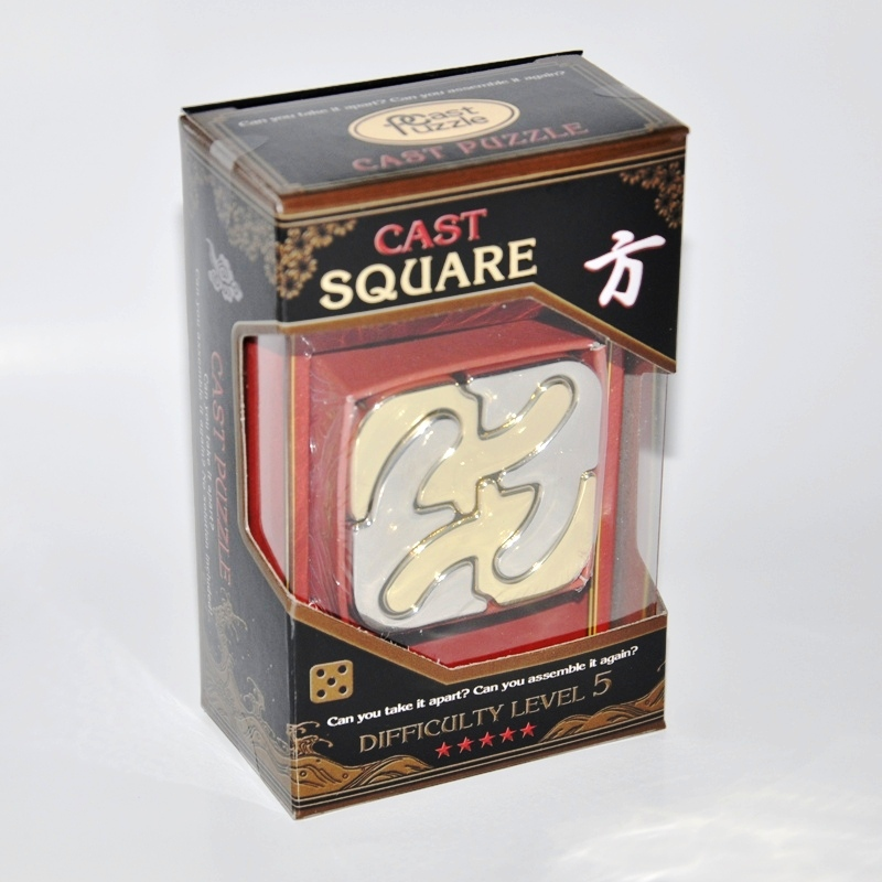 Головоломка Hanayama (Япония) Каре*****/ Cast Puzzle Square***** cast puzzle головоломка новости