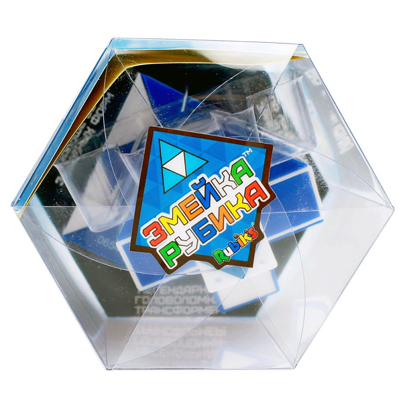 Головоломка Rubik's Змейка большая 24 элемента freywille тонкая цепочка змейка