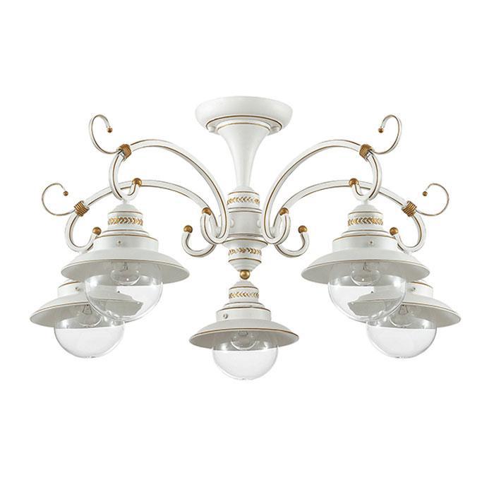 Потолочный светильник Odeon Light 3248/5C, белый odeon light потолочная люстра odeon light sandrina 3249 5c