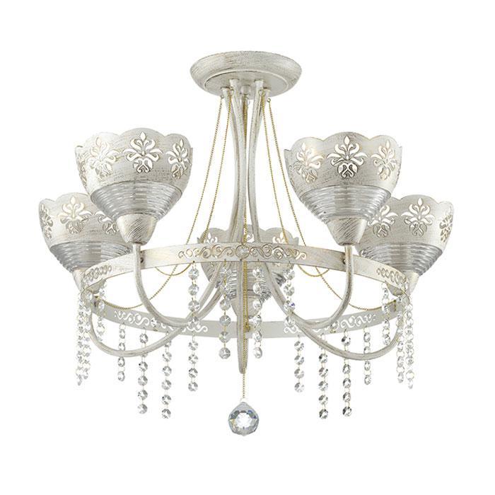 Потолочный светильник Odeon Light 3141/5C, белый odeon light потолочная люстра timora 2883 5c