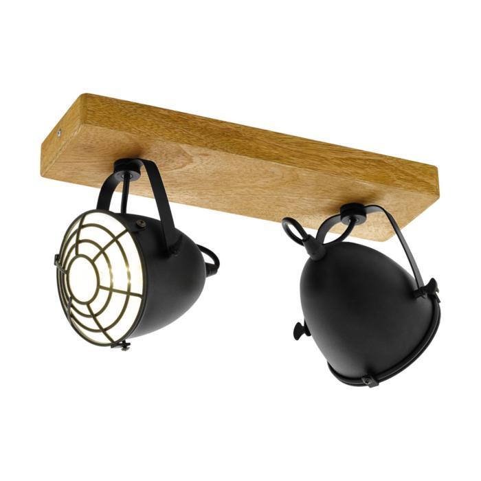 Настенно-потолочный светильник Eglo 49077, коричневый светильник спот eglo dakar 87082
