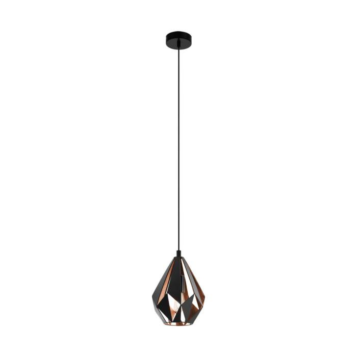 Подвесной светильник Eglo 49997, медь цена