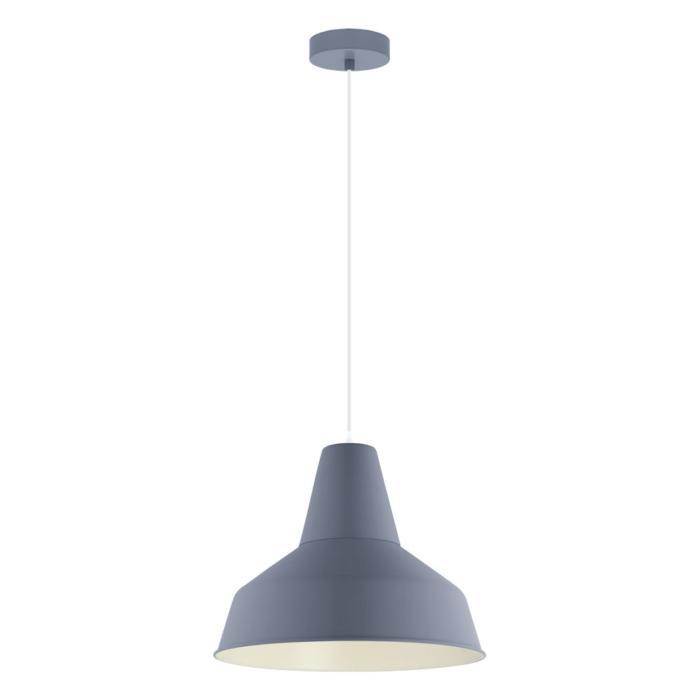 Подвесной светильник Eglo 49068, синий светильник подвесной eglo somerton 49387