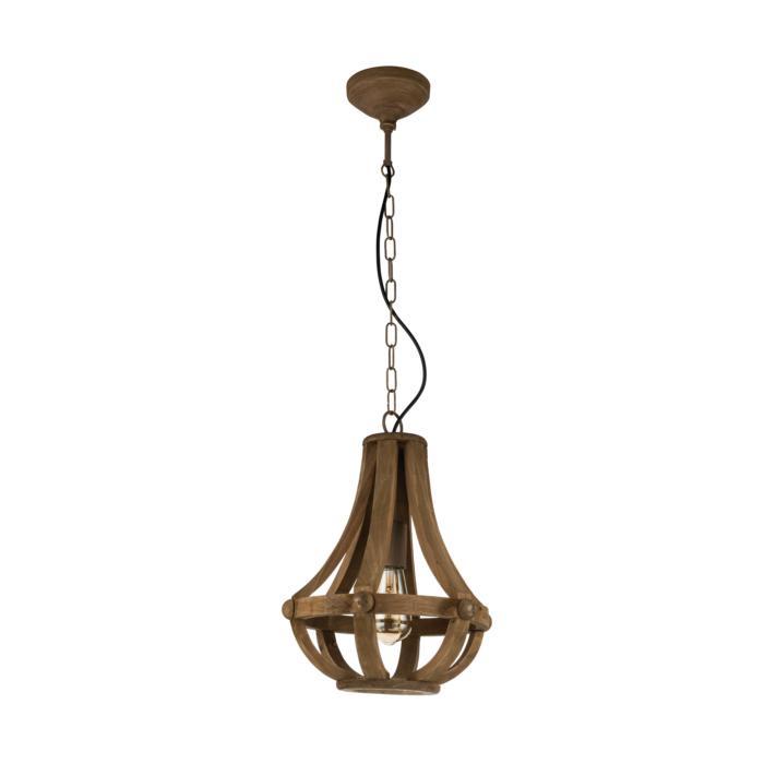 Подвесной светильник Eglo 49724, коричневый подвесной светильник eglo kinross 49725
