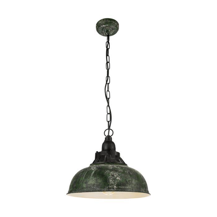 Подвесной светильник Eglo 49735, зеленый подвесной светильник eglo grantham 1 49735