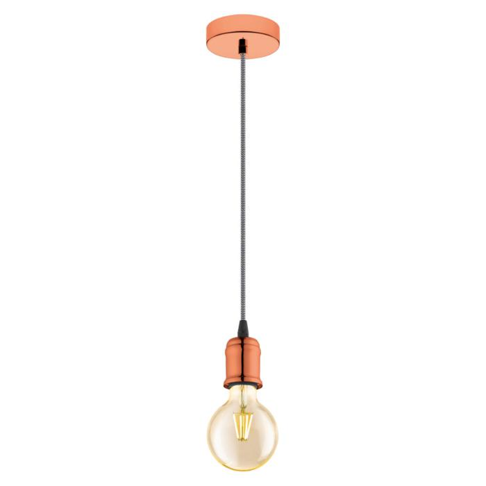 Подвесной светильник Eglo 32542, медь цена
