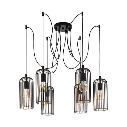 Подвесной светильник Eglo 49643, медь цена