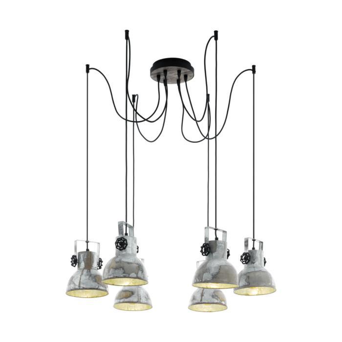 Подвесной светильник Eglo 49732, черный цена