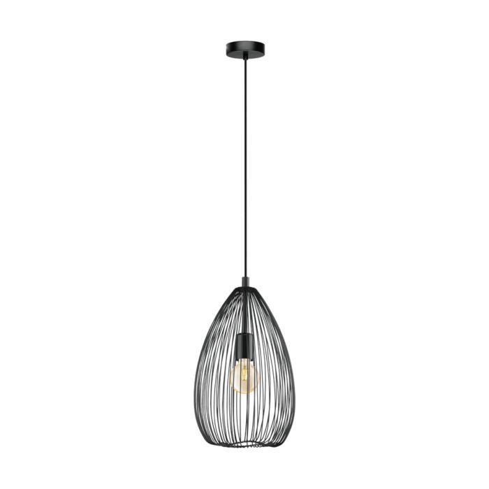 Подвесной светильник Eglo 49141, черный49141Подвесной светильник Eglo 49141 серии Clevedon освежит ваш интерьер. Размеры (Диаметр х Высота) 240х1100 мм.