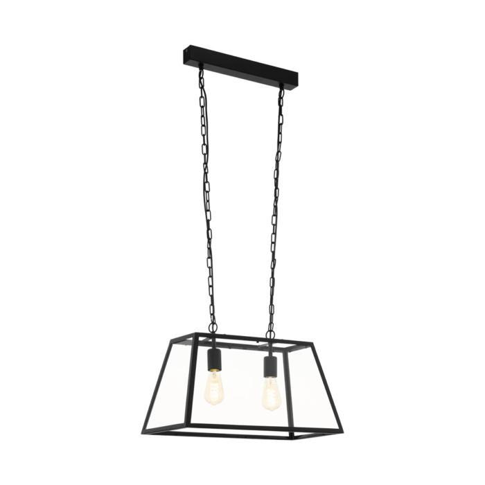 Подвесной светильник Eglo 49883, черный подвесная люстра eglo amesbury 1 49883
