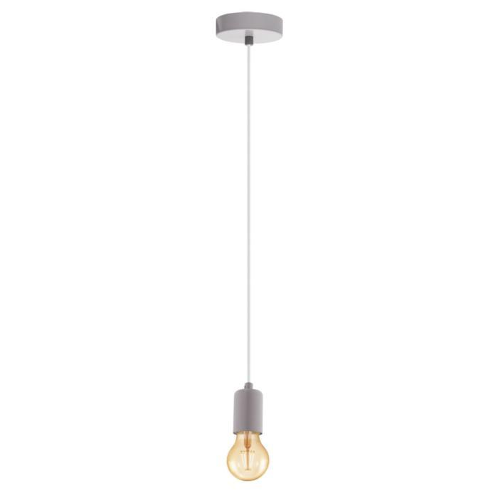 Подвесной светильник Eglo 49015, серый цена