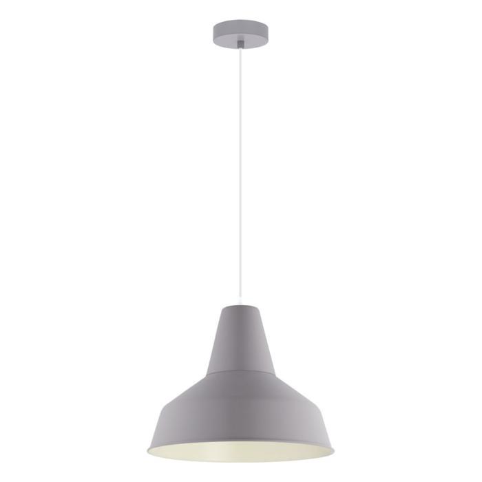 Подвесной светильник Eglo 49064, серый светильник подвесной eglo somerton 49387