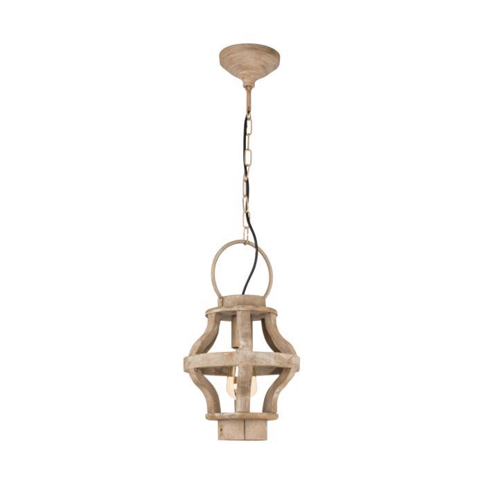 Подвесной светильник Eglo 49726, коричневый подвесной светильник eglo kinross 49725
