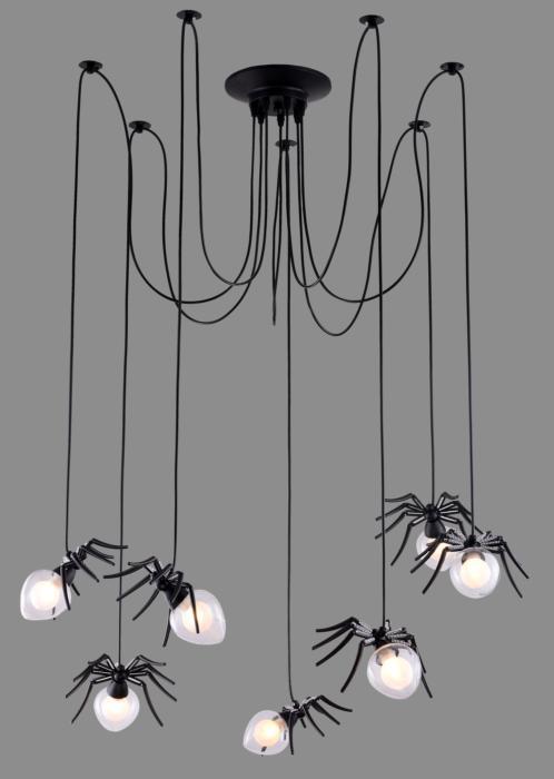 Подвесной светильник Divinare 1308/04 SP-7, черный