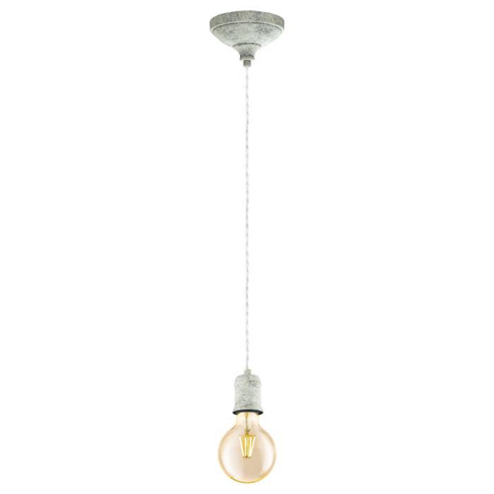 Подвесной светильник Eglo 32533, серый32533Подвесной светильник Eglo 32533 серии Yorth будет хорошим решением для квартиры. Размеры (Диаметр х Высота) 120х2000 мм.