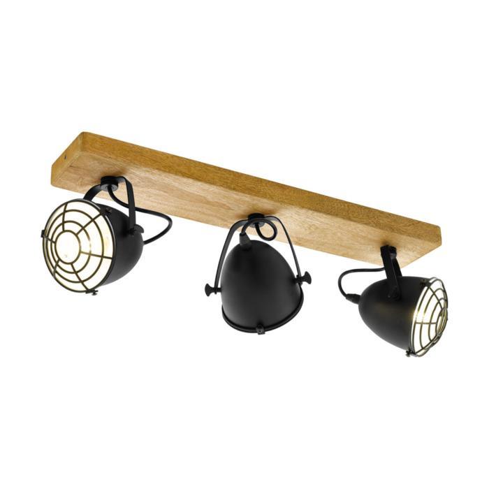 Настенно-потолочный светильник Eglo 49078, коричневый светильник спот eglo dakar 87082
