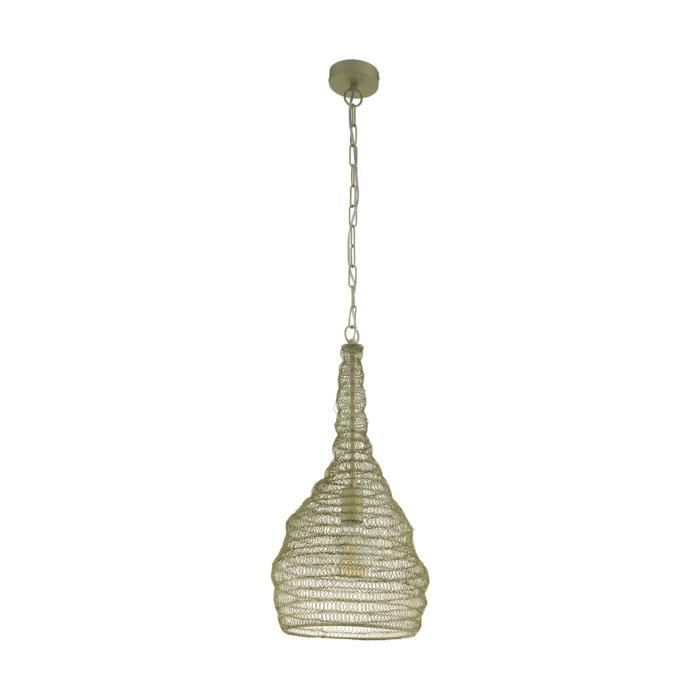 Подвесной светильник Eglo 49129, зеленый светильник подвесной eglo 92888