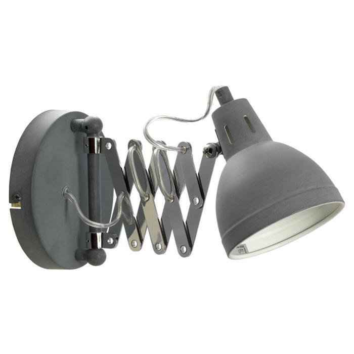 Бра Lussole LSP-8050, серый металлик