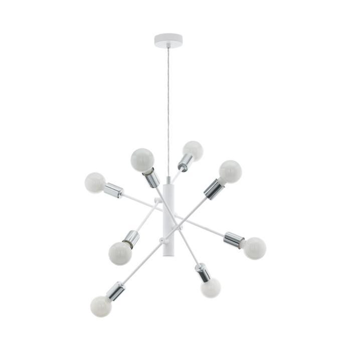 Подвесной светильник Eglo 98017, серый металлик цена