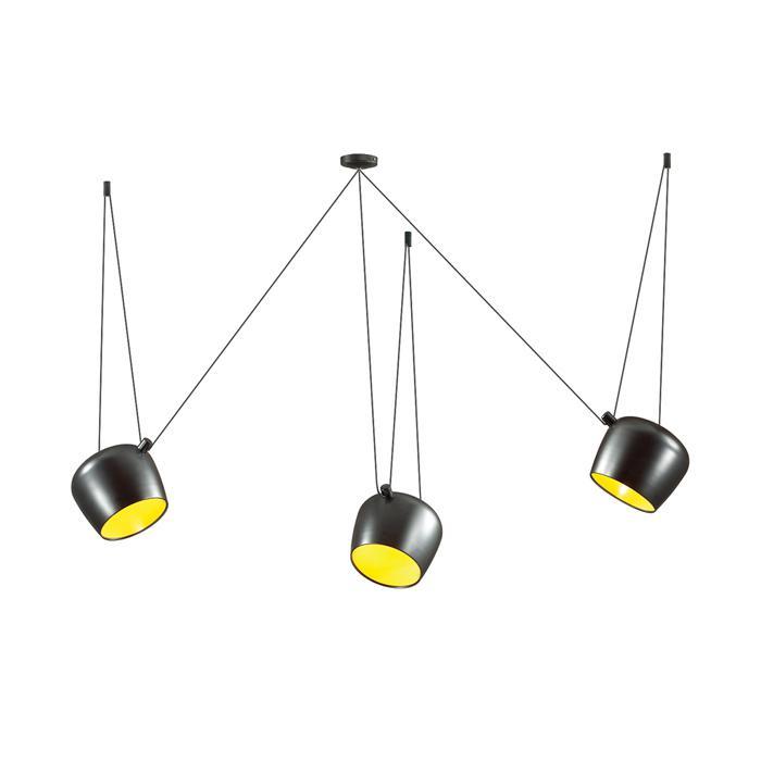 Подвесной светильник Odeon Light 4104/3, черный светильник подвесной n light лофт 129 01 36g globe