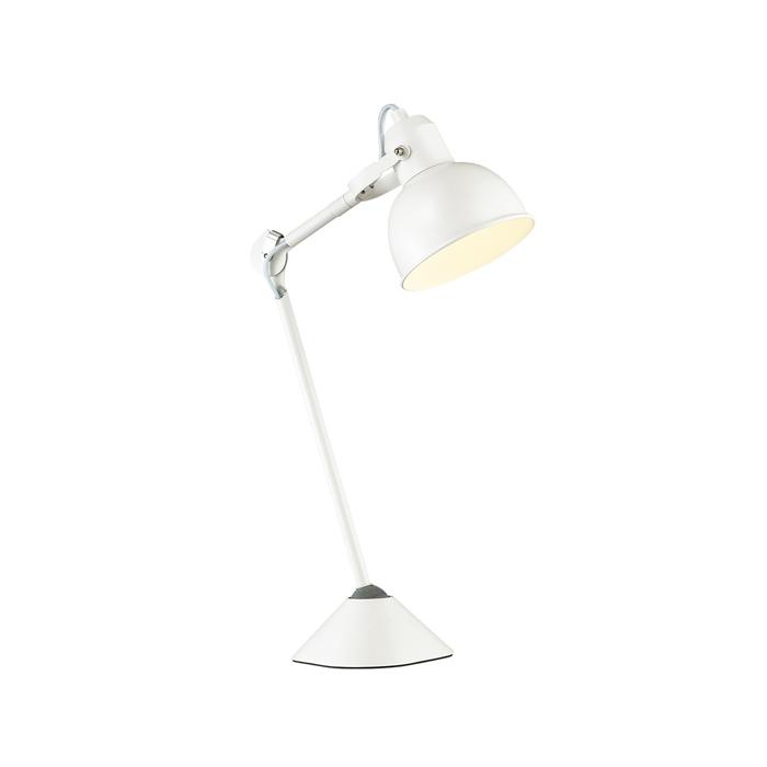 Настольный светильник Odeon Light 4126/1T, белый настольный светильник j light 1310 1t