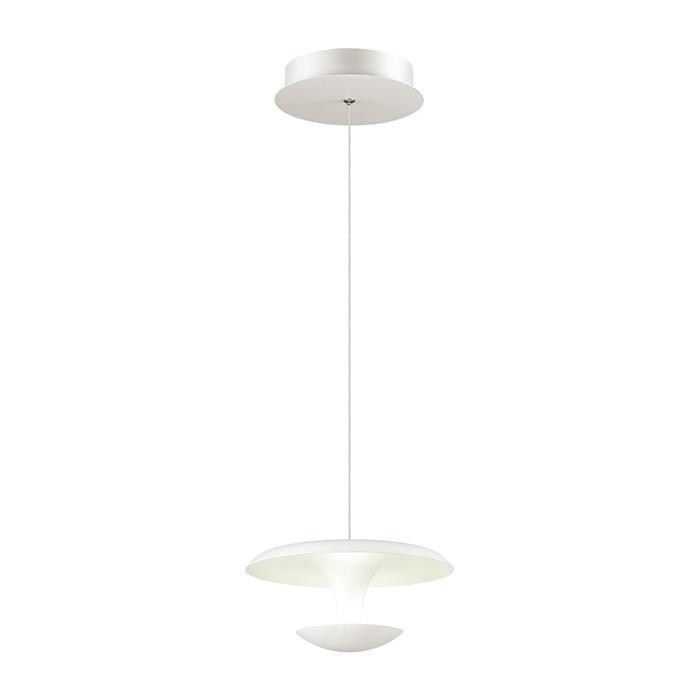 Подвесной светильник Odeon Light 4095/9L, белый цена и фото