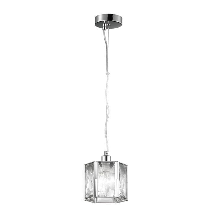 Подвесной светильник Odeon Light 4119/1, серый металлик