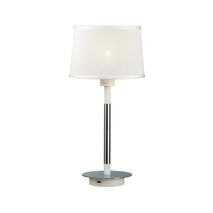 Настольный светильник Odeon Light 4160/1T, серый металлик настольный светильник j light 1310 1t