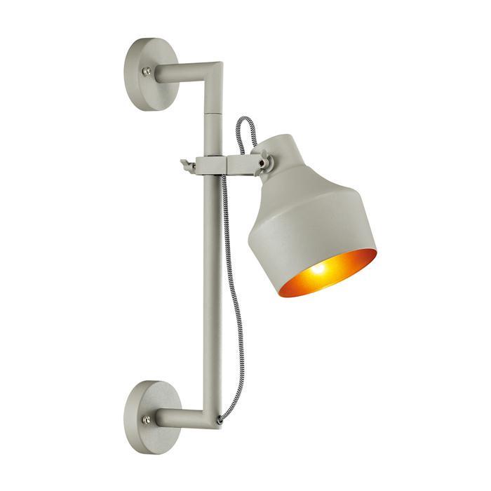Настенно-потолочный светильник Odeon Light 4083/1WA, серый бра 2654 1wa odeon light
