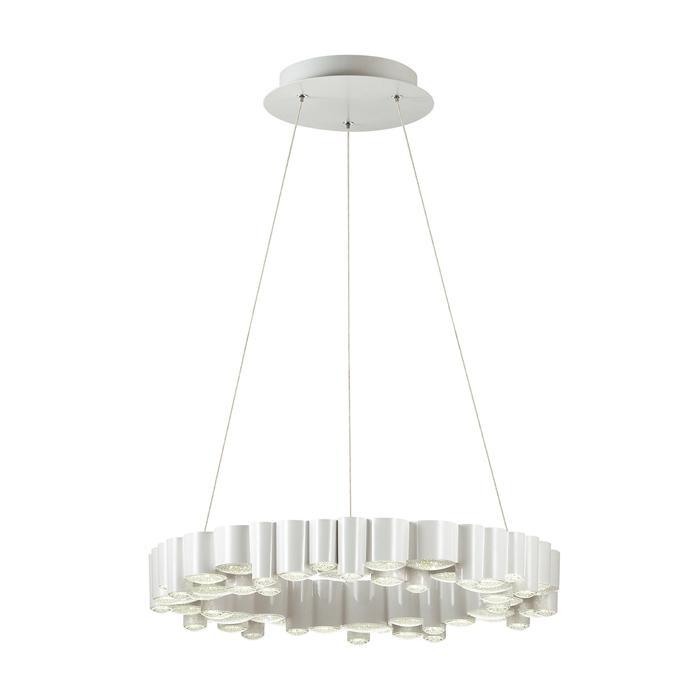 Подвесной светильник Odeon Light 4107/36L, белый подвесной светильник odeon light 4107 18cl белый