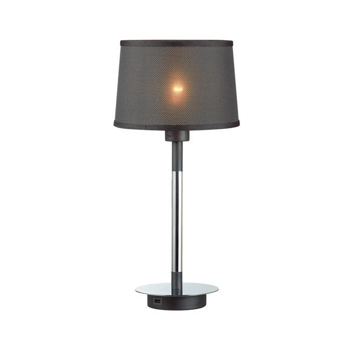 Настольный светильник Odeon Light 4159/1T, серый металлик настольный светильник j light 1310 1t