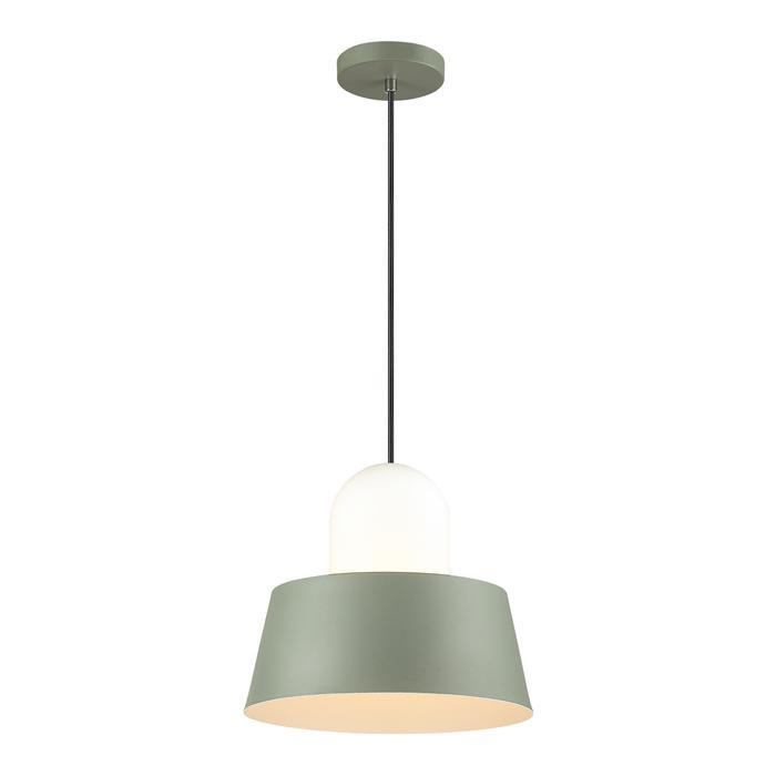 Подвесной светильник Odeon Light 4142/1, зеленый