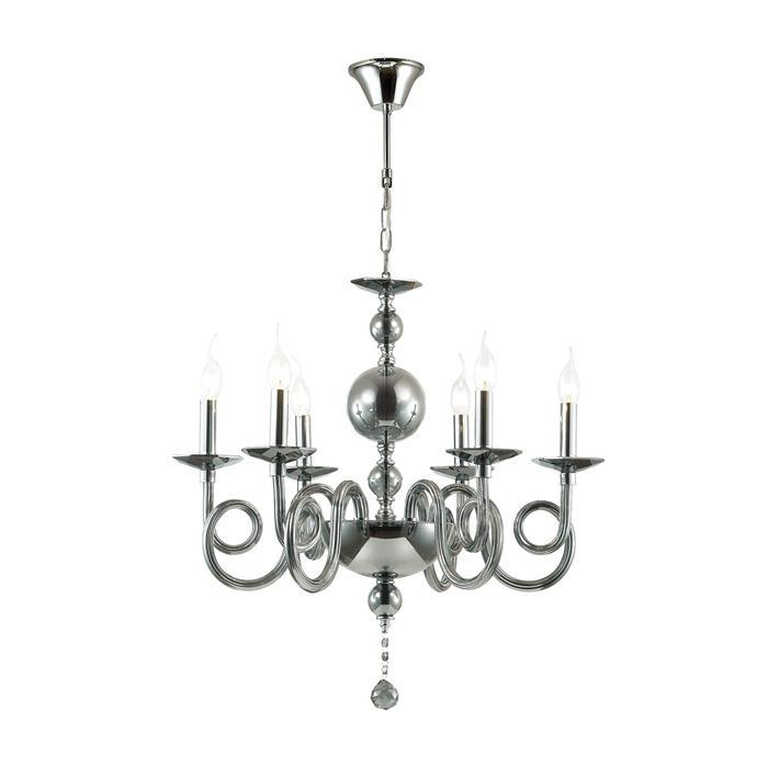 Подвесной светильник Odeon Light 4601/6, серый металлик