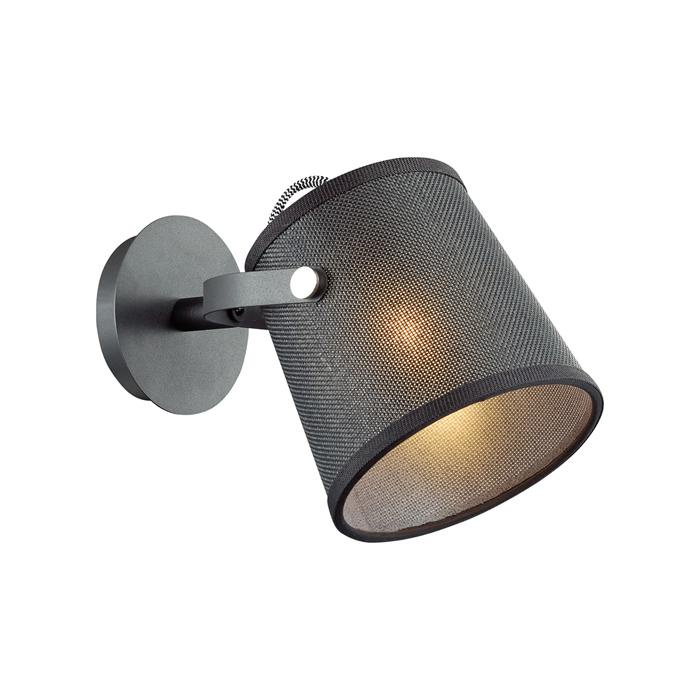Бра Odeon Light 4159/1W, серый металлик бра odeon light 2901 1w серый металлик
