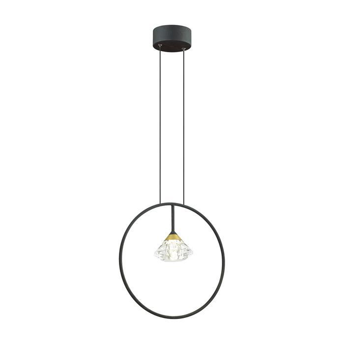 Подвесной светильник Odeon Light 4100/1, черный