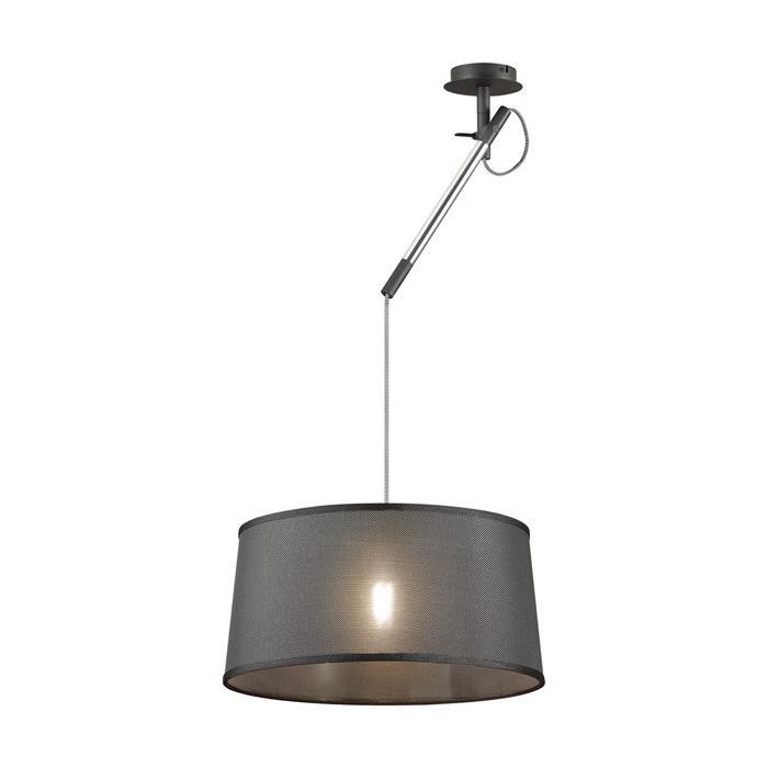Подвесной светильник Odeon Light 4159/1, серый металлик